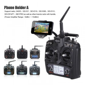 Phone holder A for radios DEVO F4, DEVO 7, DEVO F7, DEVO 8S, DEVO 10, DEVO 12S