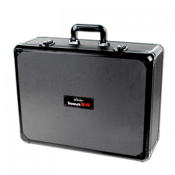 Aluminum carry case for Scout X4