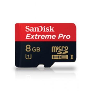 SanDisk Extereme Pro microSD 8GB - class 10, 95 MB/s