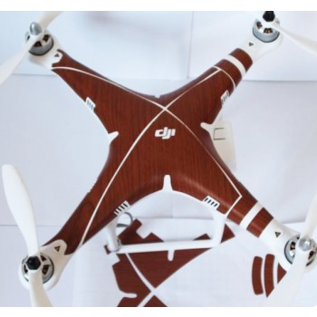 Wooden like sticker for DJI Phantom 2 Vision