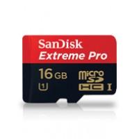 SanDisk Extereme Pro microSD 16GB - class 10, 95 MB/s
