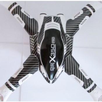 Carbon like sticker for Walkera QR X350/QR X350 PRO