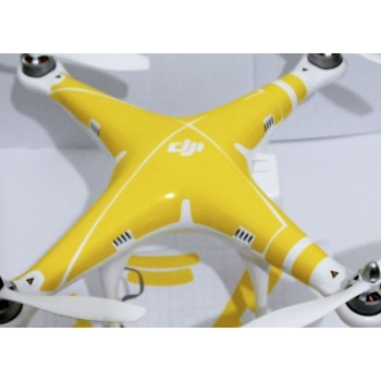 Yellow sticker for DJI Phantom 2 Vision